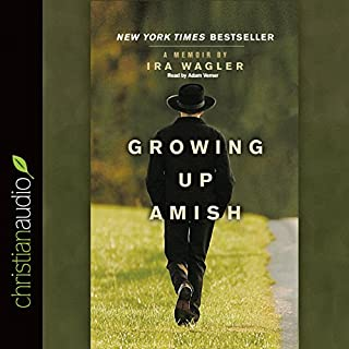 Growing Up Amish audiobook cover art