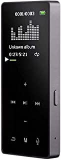USDWRM Mini MP3 Bluetooth 1.8-inch TFT Display,Super-Thin and Super-Cool Mini Bluetooth Player HiFi Sport Music Loud Speak...