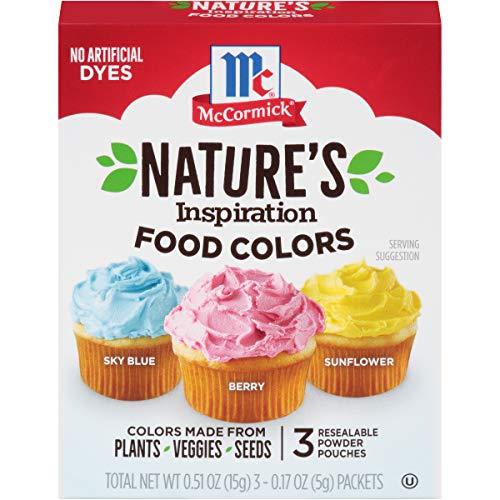 McCormick Nature's Inspiration Food Colors, 0.51 oz