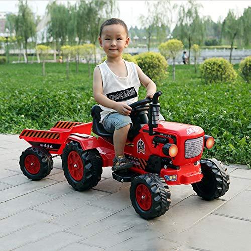 Lotees Niños Regalos niños de juguete tractor vehículo grande eléctrico coche teledirigido...
