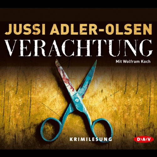 Verachtung audiobook cover art