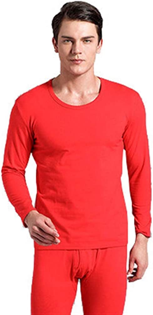 Chickle Men's Thermal Underwear Tops Base Layer Long Sleeve Shirts