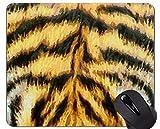 Yanteng Cute Tiger Cub Personalizado Rectángulo Mousepad, Animal Fur Mouse Pads