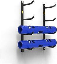 ZDAMN Yoga Mat Opbergrek Yoga Mat Houder Muur Yoga Mat Rack Foam Rollers Organizer Afstand Oefening Apparatuur Met Voor Op...