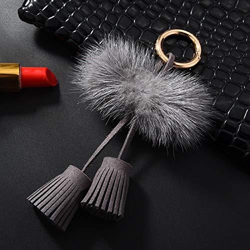 Sleutelhanger Knuffel Sleutelhanger Creatieve Decoraties Gift Accessoires Hanger 14 * 8cm Grijs