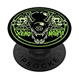 Horror Psycobilly Rockabilly Xenomorph Demon PopSockets PopGrip: Swappable Grip for Phones & Tablets