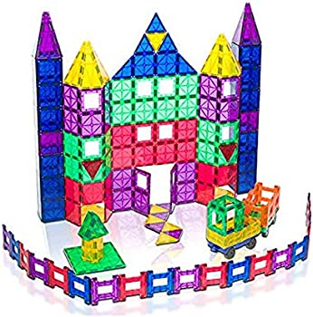 150-Piece Playmags Magnetic Building Set
