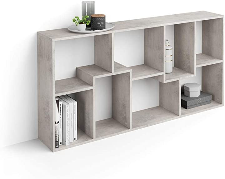 Libreria bassa xs iacopo (160,8 x 80 cm) mobili fiver B07W22RG39