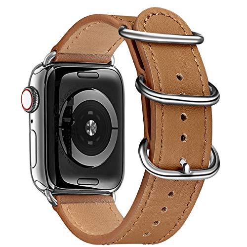 BesBand Correa compatible con Apple Watch de 38 mm, 40 mm, 42 mm, 44 mm, correa de repuesto para iWatch Series 5/4/3/2/1, Edición para mujeres y hombres.