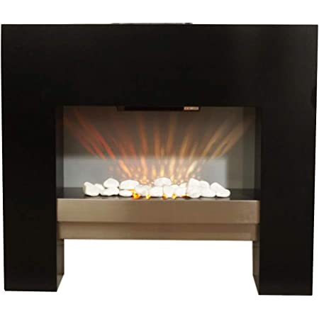 Guaranteed4less Electric Fire Fireplace Free Floor Standing Surround Flicker Flame Living Room Amazon Co Uk Kitchen Home