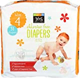 365 Everyday Value, Diapers, Size 4, 31 ct