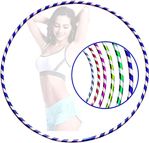 Trade Court Hula Hoop - Lightweight PVC Tube Hoola Hoops Ring for Kids Weight Loss - Ideal for Boys & Girls - Dancing, Workout, Gymnastics, Exercise Equipment & Fitness – (Medium, 55-60 cm)