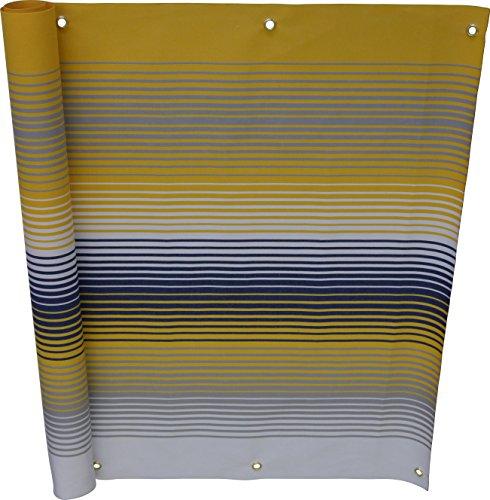 Angerer Balkonbespannung Nr. 500 gelb, 90 cm hoch, Länge: 6 Meter, 3320/500_600