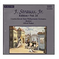J.シュトラウスII世全集 管弦楽曲及び合唱曲 完全全集 第24集