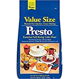 Presto Self-Rising Cake Flour With Baking Powder & Salt 160 Oz. Bag (5 Lbs.)