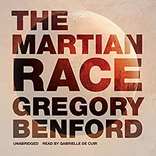 The Martian Race audiobook cover art