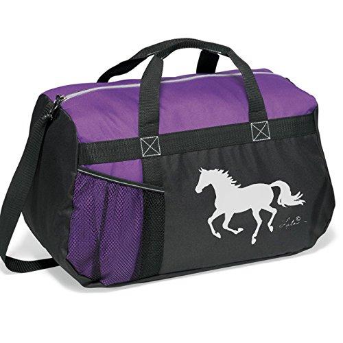 Awst Lila Helmet Duffle Bag Purple