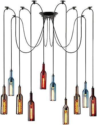 Amazon.es: Lamparas Botellas - Iluminación colgante / Iluminación de ...