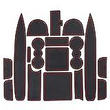 Ztuaalui Alfombrilla con Ranura para Puerta, para Land-Rover Range Rover Sport 2018-2020 Almohadilla de Goma Antideslizante para decoración de Interiores de Estilo de Coche