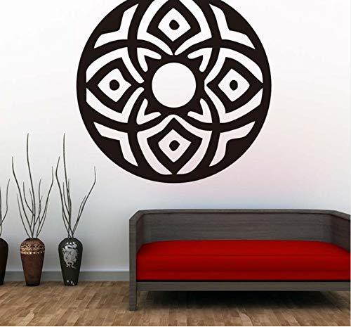Preisvergleich Produktbild Zfkdsd Zirkuläre Abstrakte Indische Mandalas Wandaufkleber Vinyl Kunst Religion Muster Wandtattoos F Wohnzimmer Wohnkultur