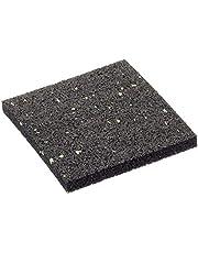 Terrastegels van rubbergranulaat, terrasbouw, 10 mm, 90 x 90 mm, 50 stuks