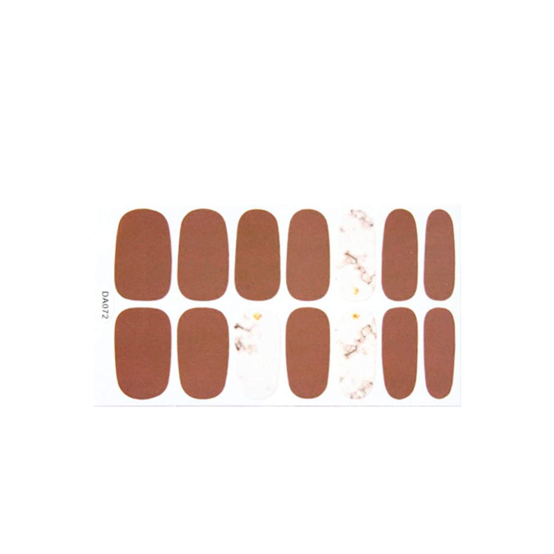 予想外ピルファー火山ネイルアート ファッションネイルラップシール【タイプ4】ハンド フット ネイルラップ セルフネイル ネイルシール デザインシール
