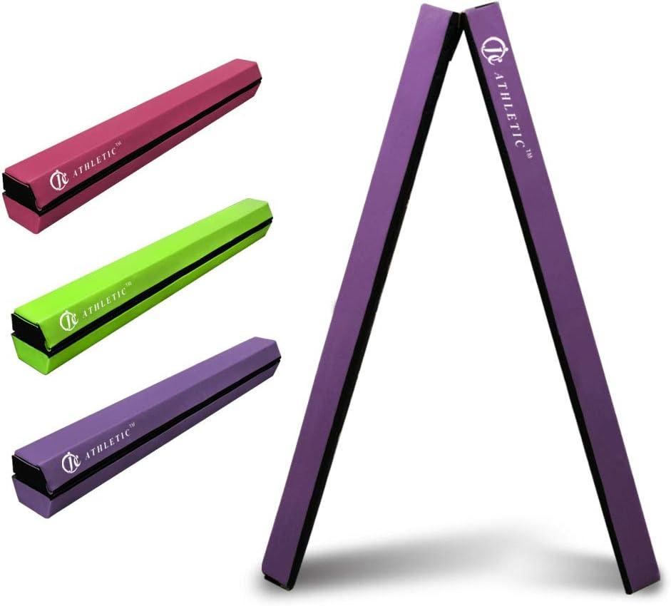 JC-ATHLETICS 8FT Balance Beam Max 42% OFF Floor Equipment Gymnastic In stock Folding