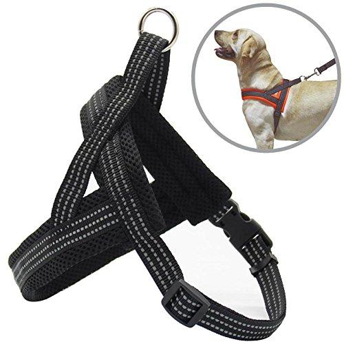 BPS® Arnés Correa para Perros Mascotas Collar Ajustable 4