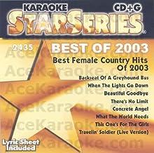 Karaoke: Best Female Country Hits 2003