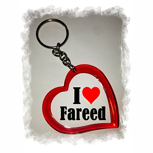 EXCLUSIVO: Llavero del corazón 'I Love Fareed' , una gran...