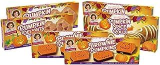 Little Debbie Pumpkin Patch Variety Pack, 2 Boxes of Brownie Pumpkins, 2 Boxes of Pumpkin Delights, 2 Boxes of Pumpkin Spi...