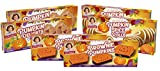 Little Debbie Pumpkin Patch Variety Pack, 2 Boxes of Brownie Pumpkins, 2 Boxes of Pumpkin Delights, 2 Boxes of Pumpkin Spice Rolls