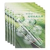 Sollmey Ventosa Transparente para Acuario, pecera, ventosas para Almohadillas de Ventosa, Calentador, Tubo, Tubo de Aire