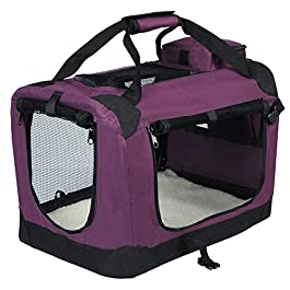 EUGAD Pet Carrier Lightweight Dog Cage Portable Travel Dog Cat Puppy Bag