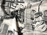 New York Designer Vorhang Polster Baumwolle Stoff