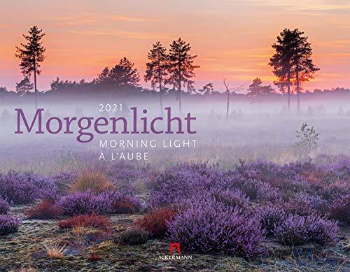 Morgenlicht Kalender 2021, Wandkalender im Querformat (54x42 cm) - Inspirationskalender / Landschaftskalender