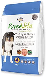 Pure Vita Grain-Free Turkey Sweet Potato & Peas - 15 Lb Bag