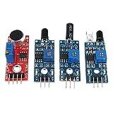 Guolongbaihuo El Kit del módulo 16PCS / Set for Raspberry Pi Cero W Sensor Kit Kits de módulo ultrasónico Photoresisto, Nueva Calidad
