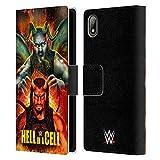 Head Case Designs sous Licence Officielle WWE Roman & Braun 2018 Hell in A Cell Coque en Cuir à...