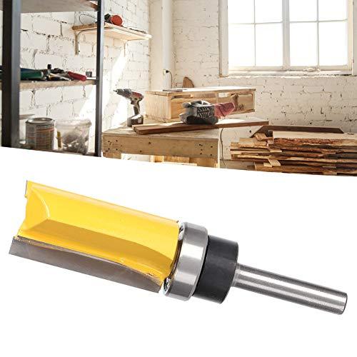 Jeanoko 1/4 'cortador 3.3' cortador de recorte sistema británico en forma de T para ranurado de madera