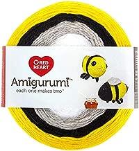 Red Heart Amigurumi Bumble Bee