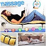 MOHAK Full Body Massage Cushion with 9 Vibrating Motors and 4 Therapy Heating
