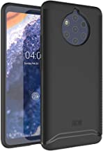 Nokia 9 Pureview Case, TUDIA Slim-Fit HEAVY DUTY [MERGE] EXTREME Protection/Rugged but Slim Dual Layer Case for Nokia 9 Pureview (Matte Black)
