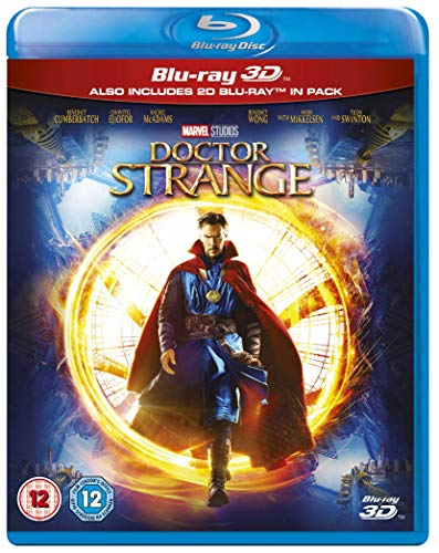 Doctor Strange (3D) [Blu-ray] [UK Import]