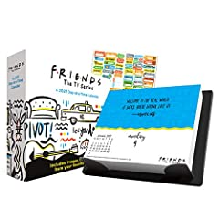 Friends 2021 Calendar, Box Edition Set -- Deluxe 2021 Friends Day-at-a-Time Box Calendar (6x5x2 Inches). Your favorite friends are back! Celebrate the iconic 90s TV show with trivia, quotes, and images of Joey, Monica, Chandler, Phoebe, Ross, and Rac...