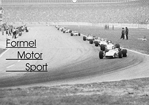 Formel Motor Sport (Wandkalender 2021 DIN A2 quer)