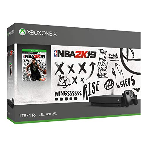 Xbox One X 1TB Console - NBA 2K19 Bundle (Discontinued)