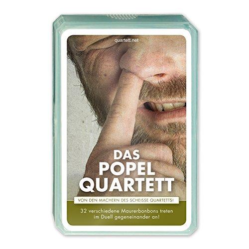 Quartett.net QUAI027 Das Popel Quartett, Kartenspiel