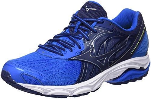 Mizuno Wave Inspire 14, Scarpe da Running Uomo, Blu (Directoire Blue/Bluedepths/Safety Yellow), 45 EU