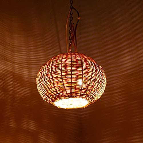 lampadario a sospensione vimini Etnico Arredo Lampadario Palma Vimini Paglia Rattan Sospensione Marocco 3003211013